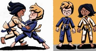 Judo karakters / Judo Characters