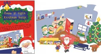 Kerstmanhuis / Christmas home crafstpage
