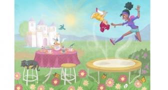Prinses Cupcake / Princess Cupcake